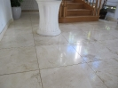 Travertine Entrance Before Polishing